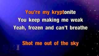 One Direction One Thing Karaoke