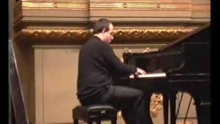 """Debussy preludio 12 """"Minstrels""""  Sandro Baldi, piano  """"live"""""""
