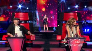 Arevik Karapetyan,Fallin by Alicia Keys - The Voice Of Armenia - Blind Auditions - Season 1