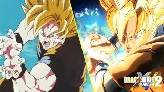 Goku's Instant Transmission Kamehameha vs Cell | Reenactment | Dragon Ball Xenoverse 2