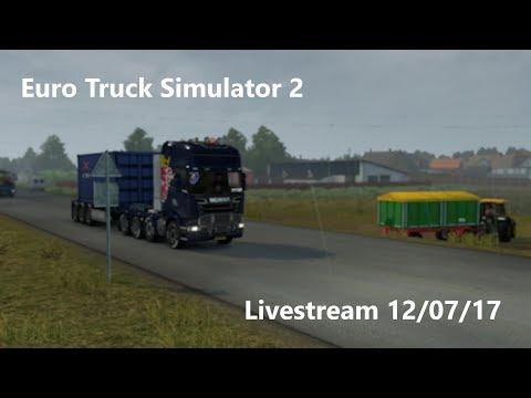 Euro Truck Simulator 2 Livestream 120717