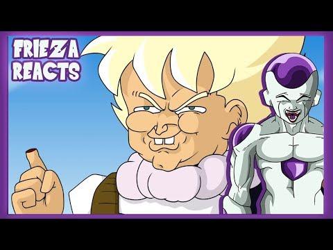 FRIEZA REACTS TO DRAGON BALL Z PARODY - TRUNKS MEETS GOKU!