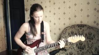 Kenny Wayne Shepherd/While we cry Guitar Blues cover/Antra Lante