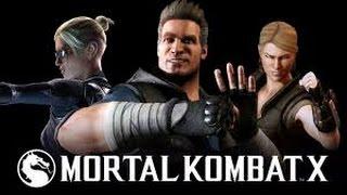 Mortal Kombat X - Familia Cage  Triler