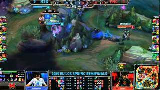 FNC Febiven Blue Steal - FNC vs H2k