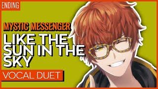 Mystic Messenger Ending - Like the Sun in The sky【Kuraiinu & Aruvn】
