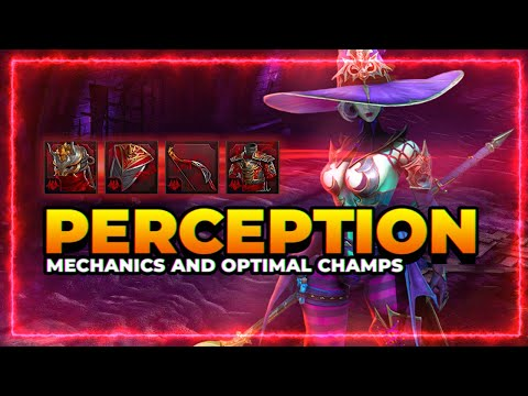 PERCEPTION Set! | Optimal Champs and Crafting! | RAID Shadow Legends