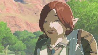 Zelda: Breath of the Wild - Link Gets Picked Up