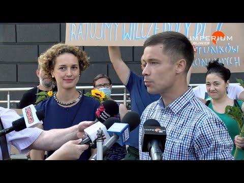 """29.07.2020 Konferencja prasowa Komitetu Inicjatywy """"Ratujmy Wilcze Doły"""""""