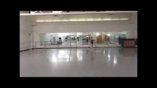 Rowan Allegra Reyes Pirouette Practice