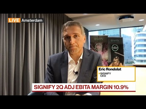 Signify CEO Says Sees 'Structural Inflation' Amid Supply Issues