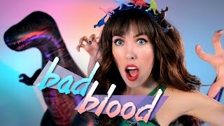 Taylor Swift - Bad Blood PARODY (Jurassic World)