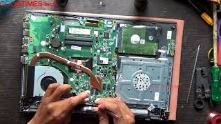 Acer ASPIRE E15 Series Laptop   How to replace HDD or SSD.