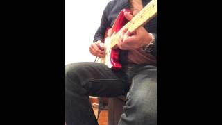 Dire Straits, Tunnel of Love - guitar solo cover