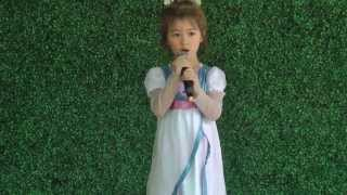 Let It Go (Disney's Frozen - Idina Menzel) - Cover by 4-year-old Grace
