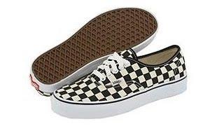 Shoe Review: Vans (Checkerboard) Black