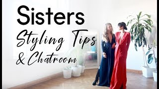 Sisters: Let's Chat | 2018-19 F/W Collection | Styling Tips *with Engilsh Subtitles