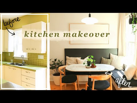 diy budget-friendly complete kitchen makeover! | Making Home | EP7