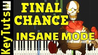Learn to Play Final Chance from Disbelief (Undertale AU) - Insane Mode