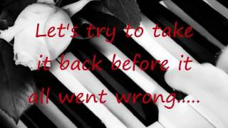 Before The Worst - The Script (Lyrics On Screen)