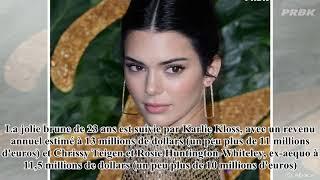 Kendall Jenner est encore le mannequin le mieux payé de la planète !- 24H