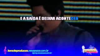 KARAOKE - Um Beijo - Luan Santana (Solo - Violão)