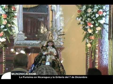 Fiestas de la Purisima en Nicaragua