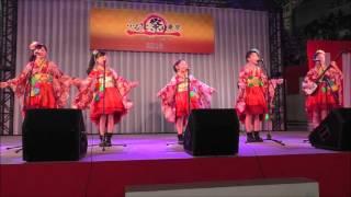 """民謡ガールズ 『よさこい鳴子踊り』  """"Yosakoi Naruko Odori"""" by Minyo Girls"""