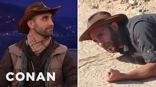 Coyote Peterson Has Been Stung By The Most Dangerous Insects On The Planet  - CONAN on TBS