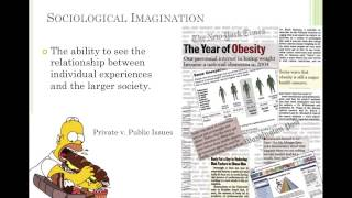 Sociology Lesson 1- Introduction to Sociology