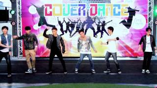 141109 The Ether cover GOT7 - A @I'm Park Cover Dance (Audition)