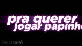 """Tipografia """"MC ROGÊ - COISAS DA VIDA A MINHA EX QUER VIRAR A MINHA AMIGA"""""""