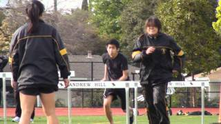 Andrew Hill Track and Field 2009 - 2010 (vs Live Oak)