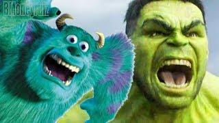 'Disney / Pixar's THOR: RAGNAROK' Mash-Up Trailer Parody