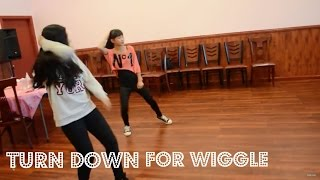 """Turn Down For What"" & ""Wiggle"" // Stacie's First Performance"