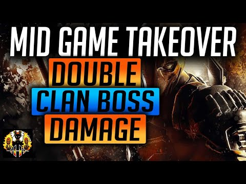 RAID: Shadow Legends | Mid Game Takeover! Double Brutal Clan Boss Damage and rise through Dungeons!
