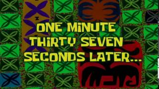 One Minute, Thirty Seven Seconds Later... | SpongeBob Time Card #40