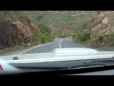 Drakensberg mountain pass through the JG Strijdom tunnel, south africa
