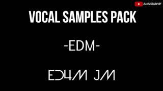 VOCAL DROP SAMPLE PACK +200 WAD | ED4M JM | DROP EDM | 2015