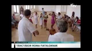 Tánctábor roma fiataloknak – Erdélyi Magyar Televízió