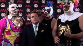 Psycho Circus - Rumbo a Triplemanía XXI - Lucha Libre AAA - 2013
