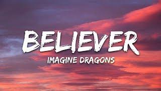 Imagine Dragons - Believer (Lyrics / Lyric Video)
