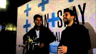 "Dan + Shay being silly in Columbus: The ""They"" Conversation"