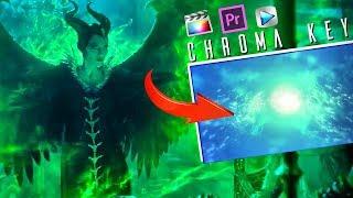 Maleficent Spell Effects - Chroma Key (Drag & Drop)