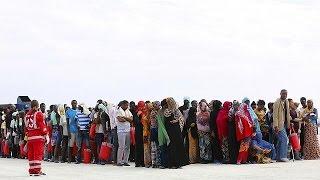 Mais de um milhão de migrantes e de refugiados na Europa em 2015