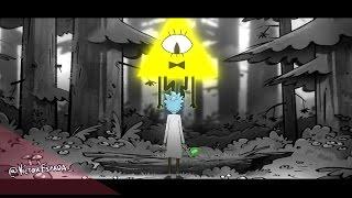 Rick and Morty // Gravity falls [MASHUP INTRO THEME]
