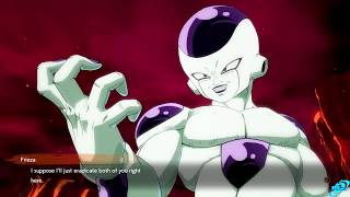 DRAGON BALL FIGHTERZ Frieza Calls Yamcha Handsome