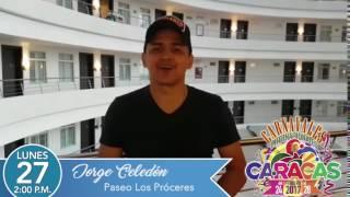 Saludo Jorge Celedón -  Carnavales Internacionales 2017
