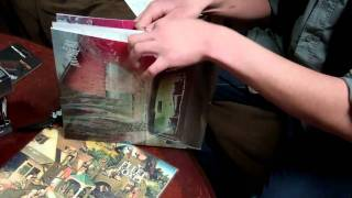 arcade fire suburbs LP unboxing