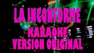 Grupo G La Inconforme Karaoke (version original)